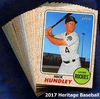2017 Topps Heritage Baseball 1-400