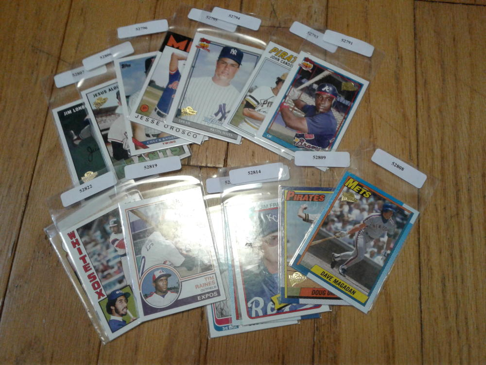 Lot of 15 2005 Topps All-Time Fan Favorites Baseball Stars NM-MT