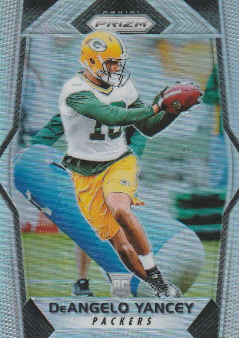 2017 Panini Prizm #258 DeAngelo Yancey NM-MT RC Rookie Green Bay Packers