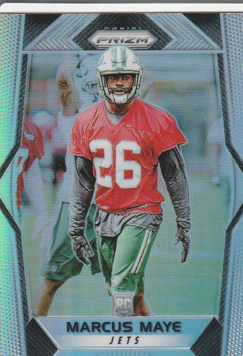 2017 Panini Prizm #266 Marcus Maye NM-MT RC Rookie New York Jets