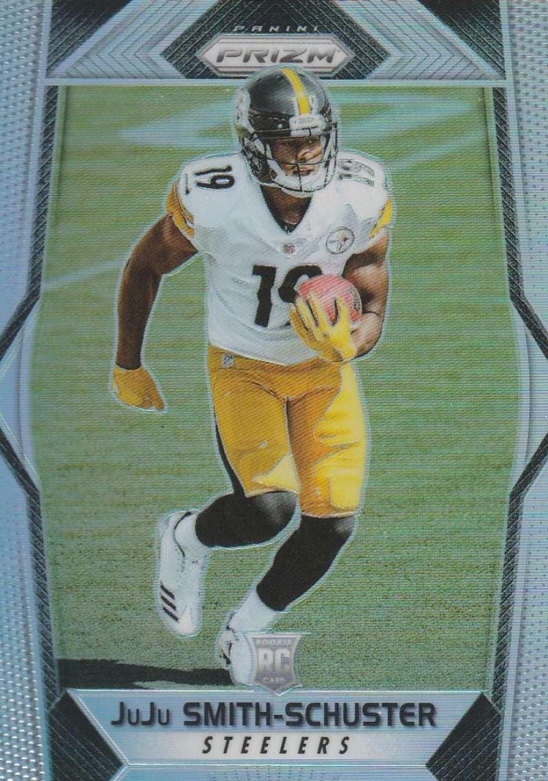 2017 Panini Prizm #281 JuJu Smith-Schuster NM-MT RC Rookie Pittsburgh Steelers
