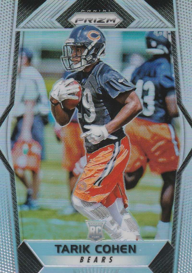 2017 Panini Prizm #285 Tarik Cohen NM-MT RC Rookie Chicago Bears