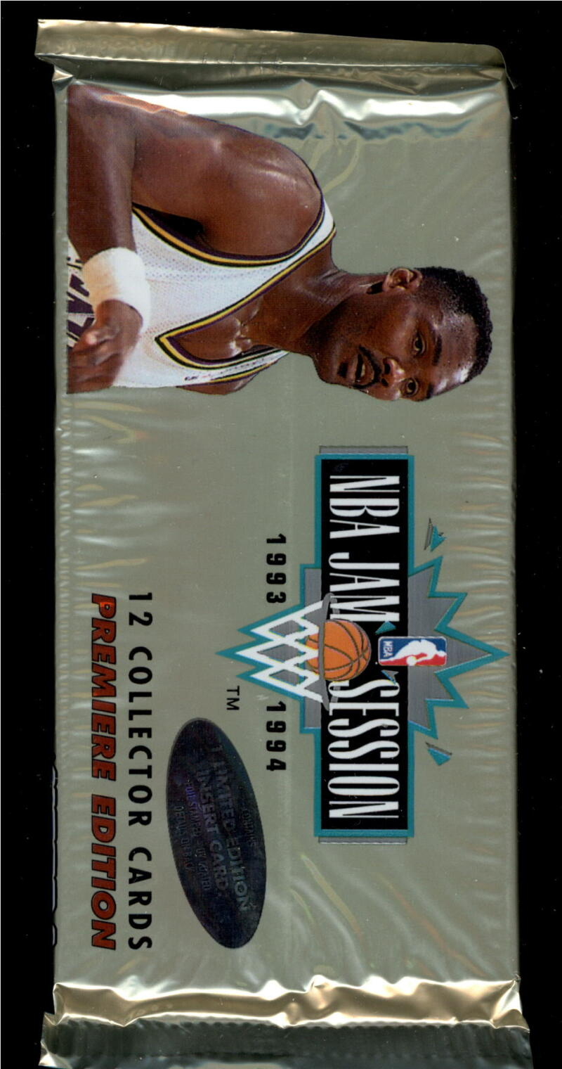 1993-94 NBA Jam Session Unopened Pack of 12 Cards