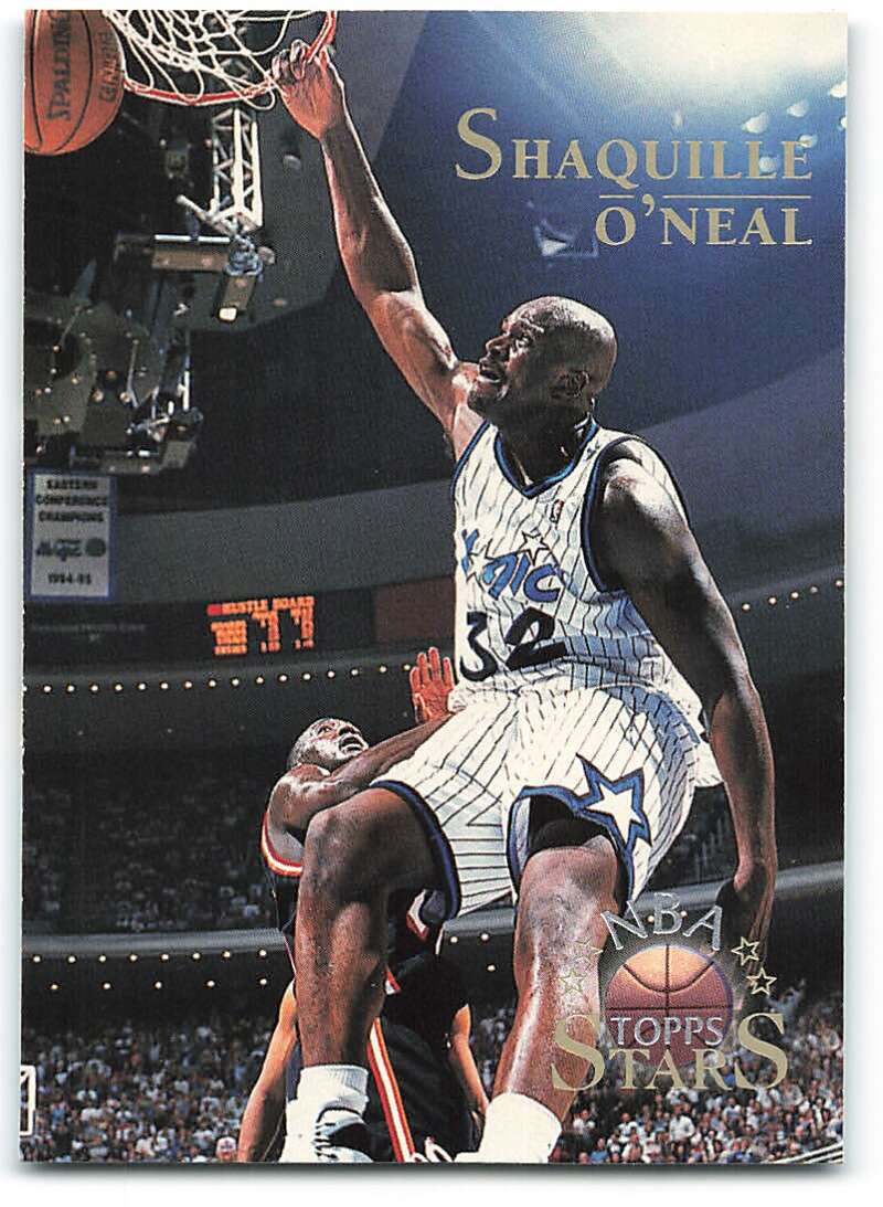 1996-97 Topps Stars #32 Shaquille O'Neal NM-MT Orlando Magic Basketball