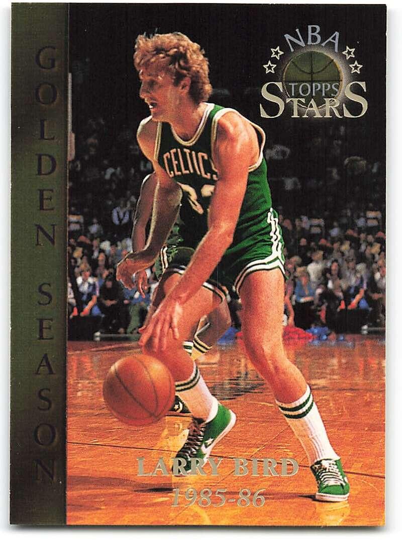 1996-97 Topps Stars #58 Larry Bird GS NM-MT Boston Celtics Basketball