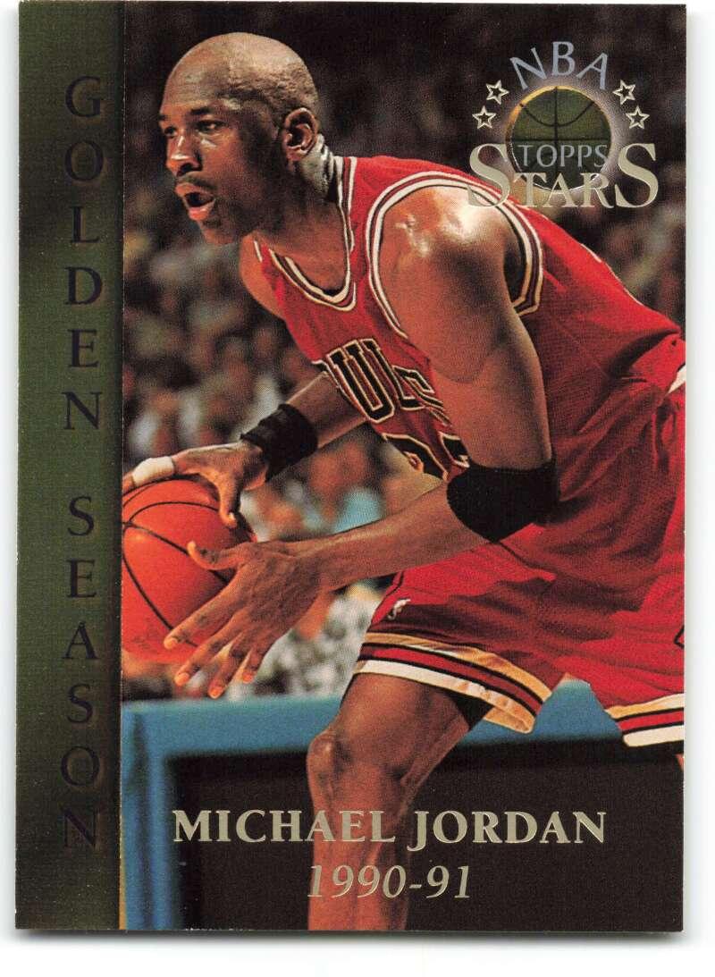 1996-97 Topps Stars #74 Michael Jordan GS NM-MT Chicago Bulls Basketball