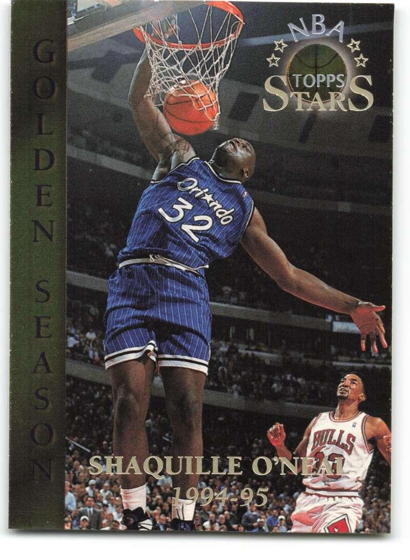 1996-97 Topps Stars #82 Shaquille O'Neal GS NM-MT Orlando Magic Basketball