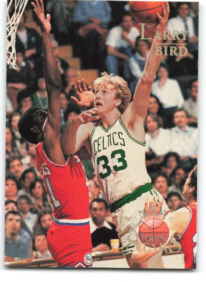 1996-97 Topps Stars #108 Larry Bird NM-MT Boston Celtics Basketball