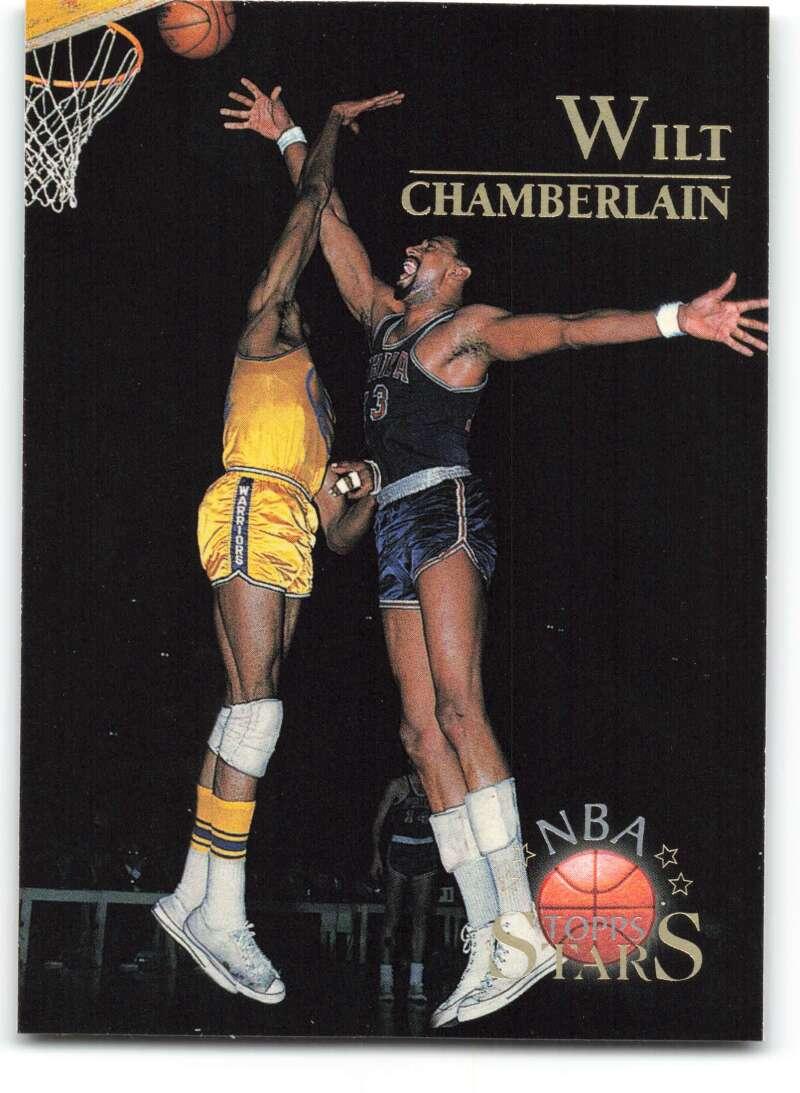 1996-97 Topps Stars #109 Wilt Chamberlain NM-MT Philadelphia Warriors Basketball
