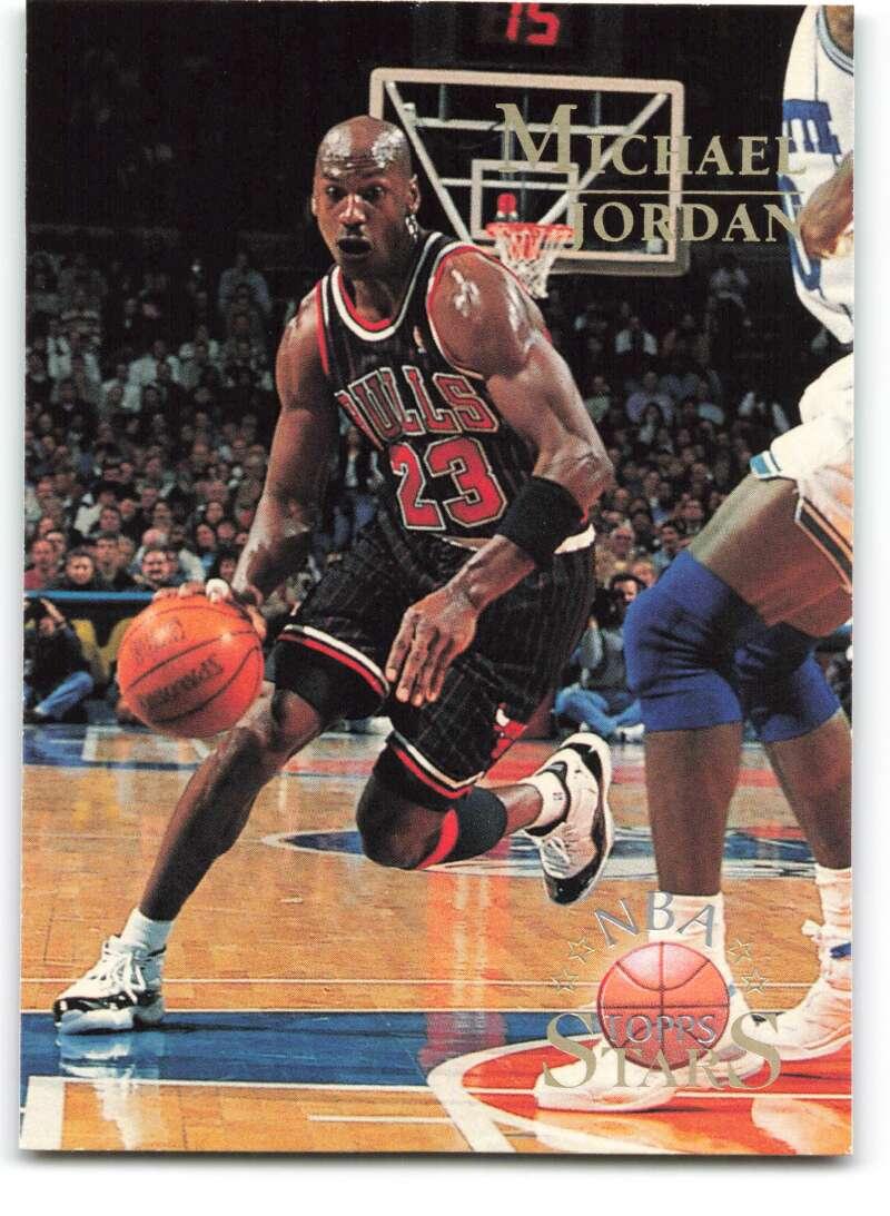 1996-97 Topps Stars #124 Michael Jordan NM-MT Chicago Bulls Basketball