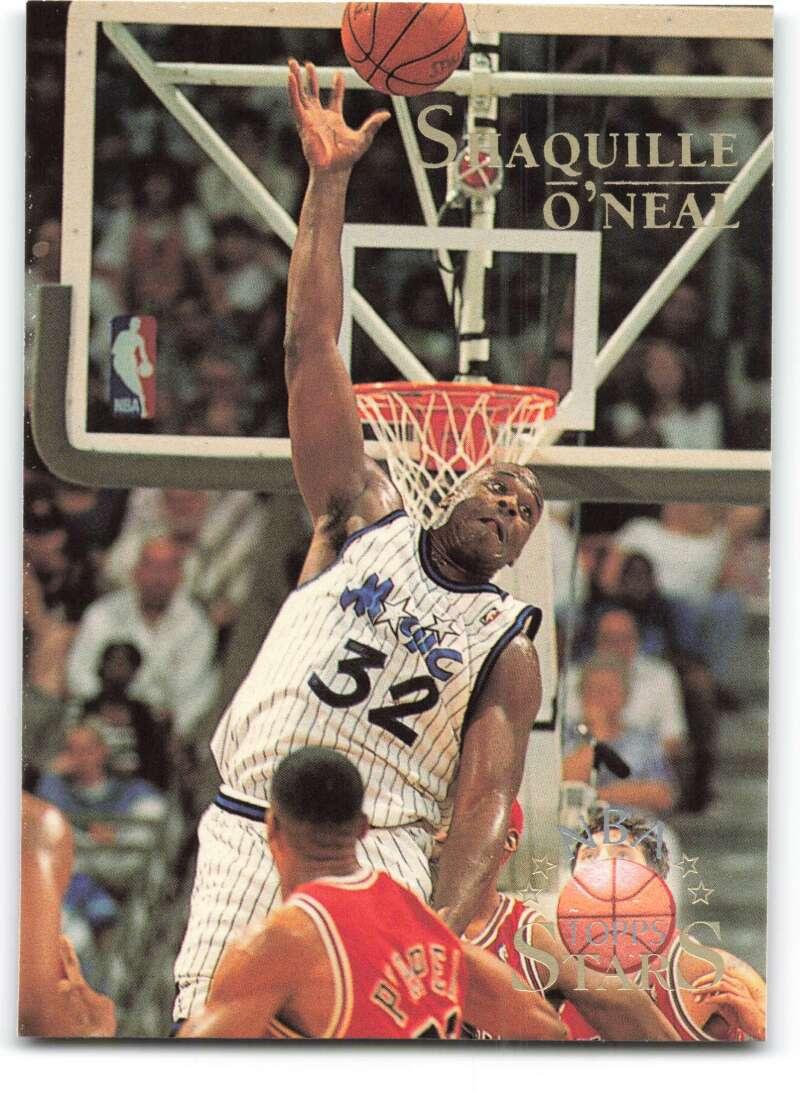 1996-97 Topps Stars #132 Shaquille O'Neal NM-MT Orlando Magic Basketball