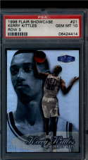 1998 Flair Showcase Row 3  #21 Kerry Kittles   PSA 10 1 of 1!!