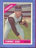 1966 Topps  #441 Tommie Sisk NM-MT