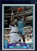 2003 Topps Chrome Refractors  #128 David West