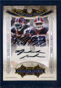 2008 Playoff National Treasures Signature Combos  #4 M.Lynch/F.Jackson   9 of 10