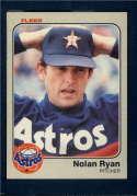 1983 Fleer  #463 Nolan Ryan