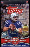2012 Topps Football Hobby Box Luck Griffin RCs