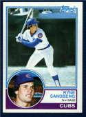 1983 Topps  #83 Ryne Sandberg RC