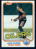 1981/82 Topps  #18 Jari Kurri RC NM-MT