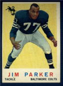 1959 Topps  #132 Jim Parker RC EX/NM