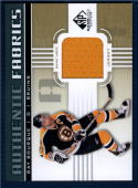 2011/12 Sp Game Used Authentic Fabrics #AFRB Ray Bourque