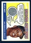 2004 Bazooka One Liners Relics #WM Willie Mays   Game Used