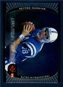 1998 Ud3 #91 Peyton Manning   Future Shock Silver