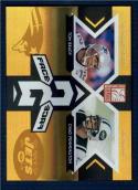 2005 Donruss Elite Face 2 Face Gold #FF4 Tom Brady/Chad Pennington   /1000