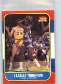 1986-87 Fleer #110 LaSalle Thompson RC Rookie