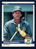 1984 Fleer #447 Rickey Henderson NM-MT