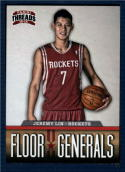 2012-13 Panini Threads Floor Generals #20 Jeremy Lin NM-MT