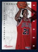 2012-13 Prestige Bonus Shots Gold #228 Marquis Teague NM-MT RC Rookie /249