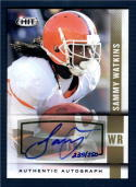 2014 SAGE Hit Autographs Gold #A2 Sammy Watkins NM-MT Auto /250