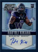 2015 Prizm Collegiate  Draft Picks Autographs Prizms #190 Hau'oli Kikaha NM-MT RC