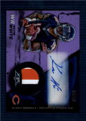 2015 Fire Auto Rookie Patch Purple #FRAP-KW Kevin White NM-MT RC Rookie MEM Auto 50/50
