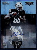 2015 Fire Rookie Autographs #4 Clive Walford NM-MT RC Raiders 287/551