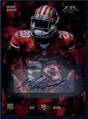 2015 Fire Rookie Autographs #46 Mike Davis NM-MT RC 49ers 13/25