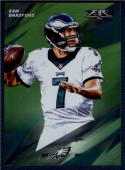 2015 Fire Green #15 Sam Bradford NM-MT 126/199 Eagles