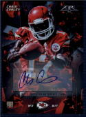 2015 Topps Fire Rookie Autographs #13 Chris Conley NM-MT RC  Auto Chiefs  245/285
