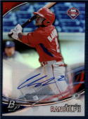 2016 Bowman Platinum Top Prospects Autographs #TPA-CR Cornelius Randolph NM-MT Auto Phillies