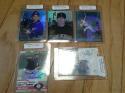 Lot of 5 On Card Baseball Autographs 2000 - 2003