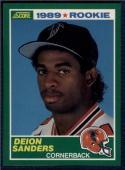 1989 Score #246 Deion Sanders NM-MT RC Rookie Falcons