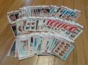 Lot of 82 High Grade 1975-76 Basketball Cards w/Bradley Checklists Team Cards