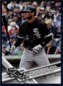 2017 Topps Factory Variations #210 Yoan Moncada NM-MT RC Red Sox