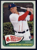 2014 Topps Heritage Factory High Numbers #H559 Christian Vasquez  RC Rookie Red Sox