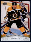 2011-12 Upper Deck #438 Patrice Bergeron NM-MT Bruins