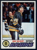 1977-78 Topps #134 Mike Milbury NM-MT RC Rookie Bruins