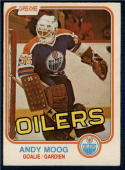 1981-82 O-Pee-Chee #120 Andy Moog NM Near Mint RC Rookie Oilers