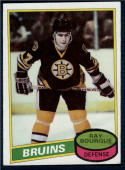 1980-81 Topps #140 Ray Bourque NM+ RC Rookie Bruins Scratched