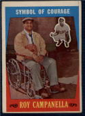 1959 Topps #550 Roy Campanella Symbol of Courage VG+ Very Good Plus Dodgers
